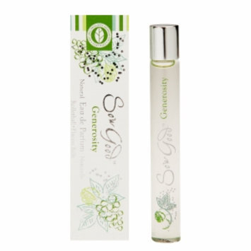 Sow Good Natural Eau de Parfum Rollerball, Generosity, .34 fl oz