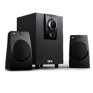 Quantumfx QuantumFX 2.1 Channel Speaker System with Built-in Active Amplifier