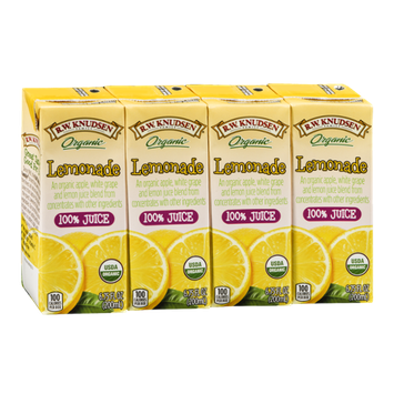 R.W. Knudsen Organic Juice Lemonade - 4 CT