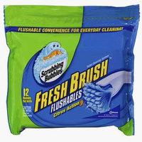 Scrubbing Bubbles Fresh Brush Flushable Refills Toilet Cleaning System Citrus Action