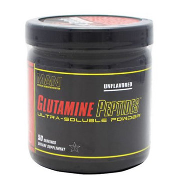 MAN Sports Glutamine Peptides Unflavored - 50 Servings