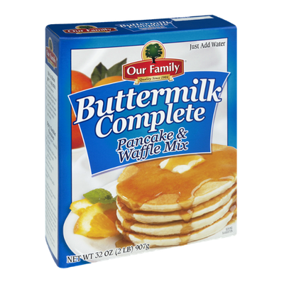 Our Family Buttermilk Complete Pancake & Waffle Mix