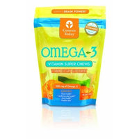 Genesis Today Omega-3 Vitamin Super Chews, 30-Count
