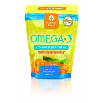 Genesis Today Omega-3 Vitamin Super Chews, 30-Count