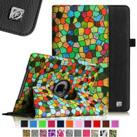 Fintie Rotating Stand Case Cover for iPad Air / iPad 5 (5th Generation), Stained Glass Mosaic