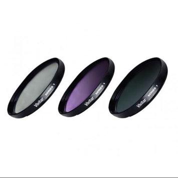 Vivitar 62mm 3 Piece Lens Filter Kit - VIV-FK3-62