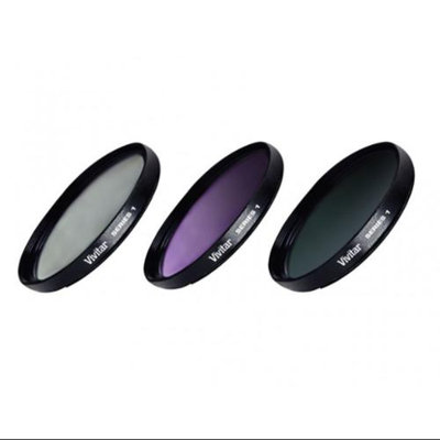 Vivitar 62mm 3 Piece Lens Filter Kit - VIV-FK3-62