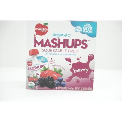 Revolution Foods Organic Mashups Squeezable Fruit