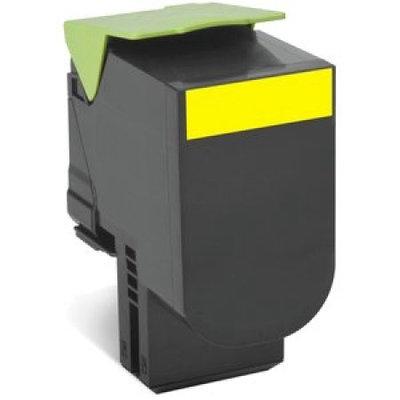 Lexmark 800S1 Black Standard Yield Toner Cartridge 80C0S10