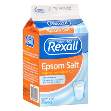 Rexall Epsom Salt, 16 oz