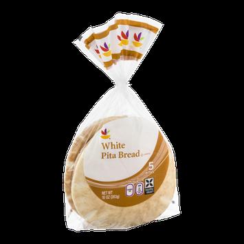 Ahold White Pita Bread - 5 CT