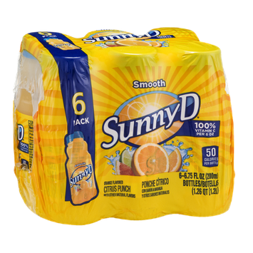 SunnyD Citrus Punch Smooth - 6 CT