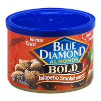 Blue Diamond Almonds Bold Jalapeno Smokehouse