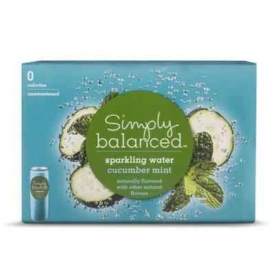 Cott Beverages Inc. Simply Balanced Sparkling Cucumber Mint 8pk 12oz