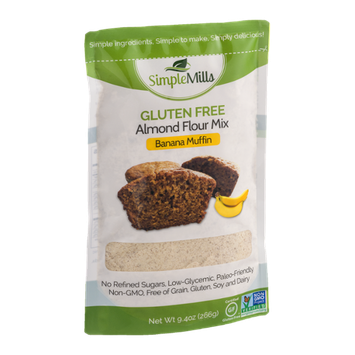Simple Mills Gluten Free Almond Flour Mix Banana Muffin