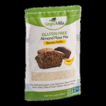 Simple Mills Gluten Free Almond Flour Mix Banana Muffin