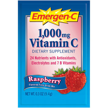 Alacer Corp. EV280 Vitamin Drink Mix Vitamins C/B 1000 mg 50ea/PK Raspberry