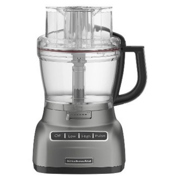 KitchenAid 13-Cup Food Processor - Contour Silver
