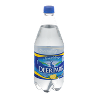 Deer Park Natural Sparkling Spring Water Lemon Essence
