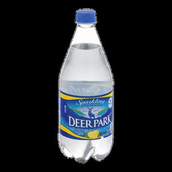 Deer Park Natural Sparkling Spring Water Lemon Essence
