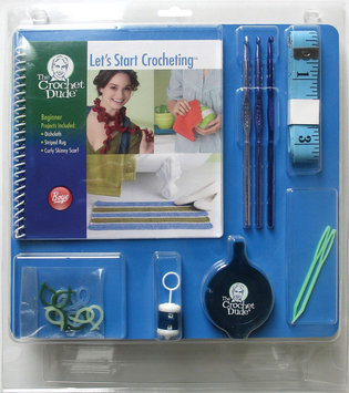 Wm E Wright Ltd. Prt. Crochet Dude Beginner Kit