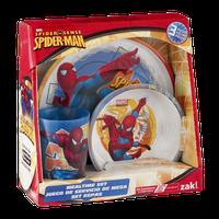 Zak Marvel Spider-Man Mealtime Set 3 PC