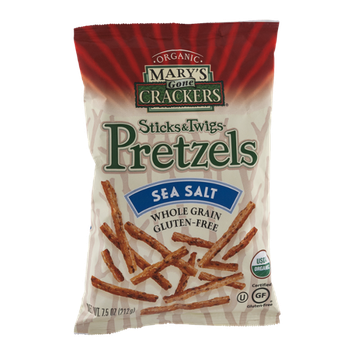 Mary's Gone Crackers Sticks & Twigs Pretzels Sea Salt