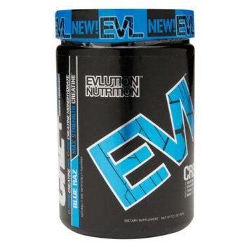 Evlution Nutrition CRE+ Creatine HCL, Blue Raz, 12.7 oz