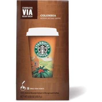 Starbucks Coffee VIA Colombia Instant Coffee