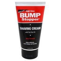 High Time Bump Stopper Shaving Cream W/Tea Tree Oil 5oz Tube (3 Pack)