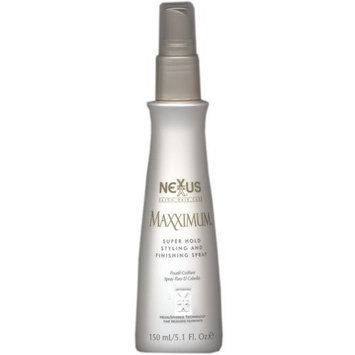 Nexxus Maxximum Super Hold Styling and Finishing Spray 5.1 oz (2 Pack)