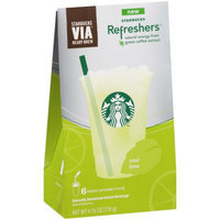 Starbucks Coffee Refreshers Cool Lime