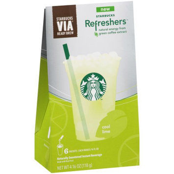STARBUCKS® Refreshers™ Cool Lime VIA® Ready Brew