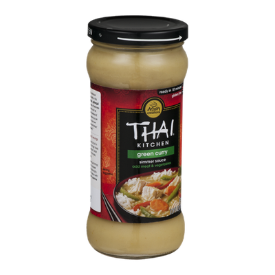 Asian Creations Thai Kitchen Simmer Sauce Green Curry
