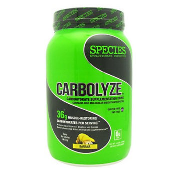 Species Nutrition Carbolyze Banana - 40 Servings