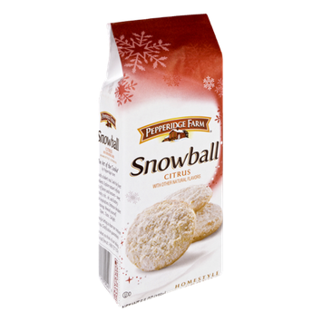 Pepperidge Farm® Snowball Citrus Homestyle Cookies