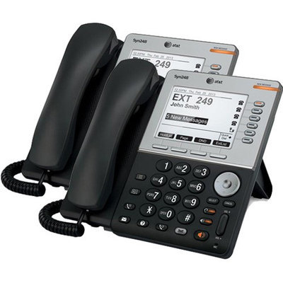 AT & T SB35031 + (1) SB35031 ATT Syn248 SB35031 with Dect 6-5 inches bac