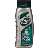 Dial®for Men Body wash for Hair & Body Dandruff Formula