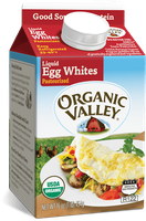 Organic Valley® Egg Whites, Pasteurized