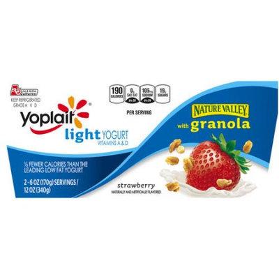 Yoplait® Light Strawberry Yogurt With Granola