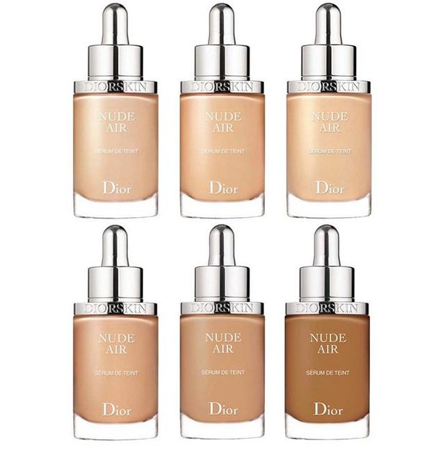 Dior Diorskin Nude Air Serum Nude Healthy Glow Ultra-Fluid Serum Foundation