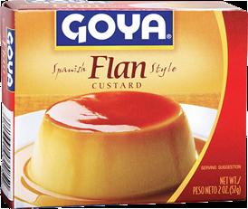 Goya® Flan -Custard Spanish Style