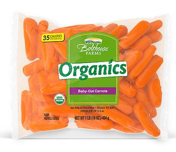 Bolthouse Farms Organics Baby Cut Carrots