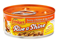 Friskies® Rise & Shine Sunny Chicken & Egg Scramble Canned Cat Food