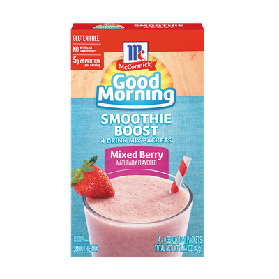McCormick® Good Morning Mixed Berry Smoothie Boost
