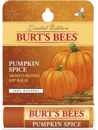 Burt's Bees Pumpkin Spice Moisturizing Lip Balm