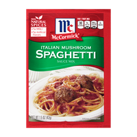 McCormick® Italian Style Spaghetti Sauce Mix with Mushrooms