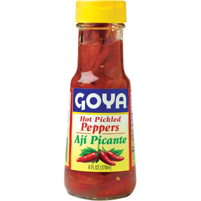 Goya Hot Pickled Red Peppers