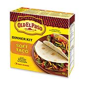 Old El Paso® Soft Taco Dinner Kit