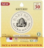 Burt's Bees Baby Bee Natural Sun Care Spf 30 Sunscreen Stick